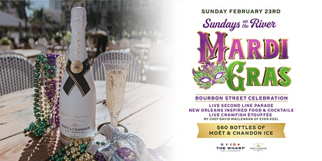 Mardi Gras Bourbon Street Celebration at The Wharf Fort Lauderdale tickets