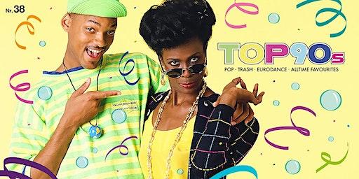 TOP90s: 90s Pop, Eurodance, Trash *Neon Special* + Best of 90s HipHop Floor