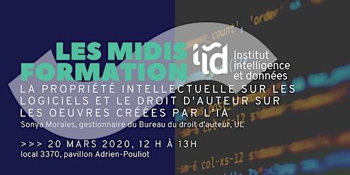Midis-Formation de l'IID : PI, droits d'auteur et intelligence artificielle