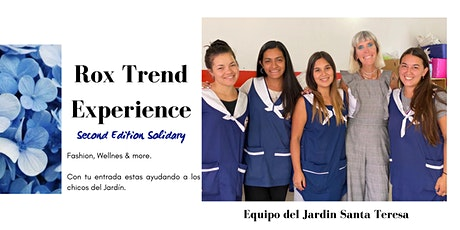 RoxTrend Experience Second Edition Solidary entradas