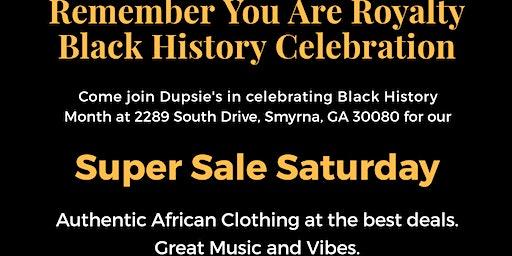 Super Sale Saturday