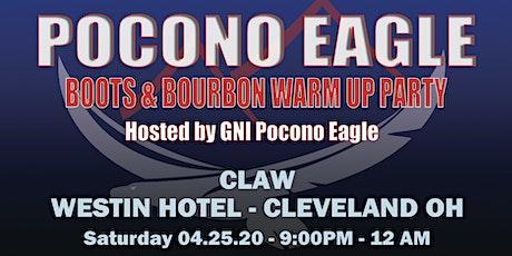 GNI Pocono Eagle Boots and Bourbon - CLAW 2020 tickets