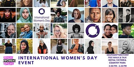 When Women Speak Walk & Talk for International Women's Day  tickets