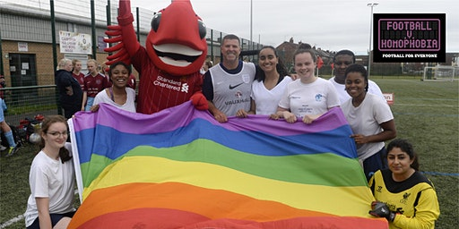 Football v Homophobia Carnival with the LFC Foundation