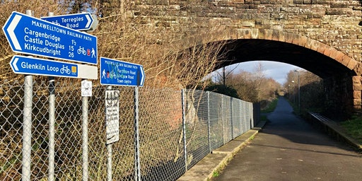 Friends of Maxwelltown Path workdays, Dumfries (NCN route 7)