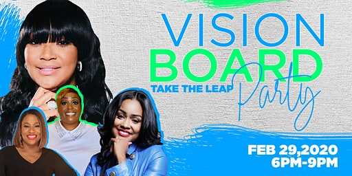 "Vision Board Party ""Take The Leap"""