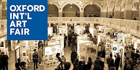 Oxford International Art Fair Sat 28th November 2020 Ticket  tickets