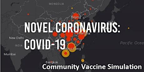 Community Coronavirus COVID-19 Full Scale Vaccination Simulation Training tickets
