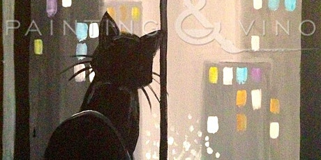 'City Cat' - Fun Paint and Sip Event tickets