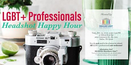 LGBT+ Professionals Headshot Happy Hour tickets