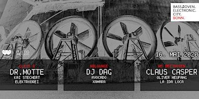 N8Lounge Ticket 1,Electronic City Bonn / w. Dr. Motte, DJ Dag, Claus Casper