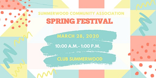 Summerwood Spring Festival 2020