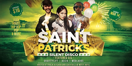 Silent Disco Saint Patrick's Day Party tickets