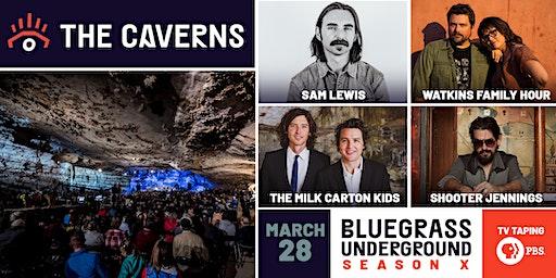 Bluegrass Underground PBS TV Taping - Saturday