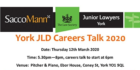 York JLD Careers Talk 2020 tickets