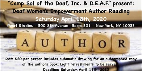 Deaf Women's Empowerment Author Reading tickets