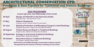 Architectural Conservation CPD 2020: Principles & Best...