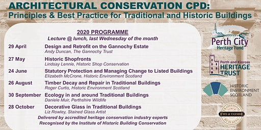 Architectural Conservation CPD 2020: Principles & Best Practice