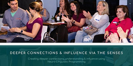 Deeper Connections & Influence via the Senses tickets