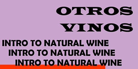 NATTY WINE CLUB /// Introduction to NATURAL WINE /// Devi's + Otros Vinos tickets
