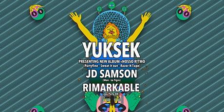 Yuksek with JD Samson, Rimarkable tickets