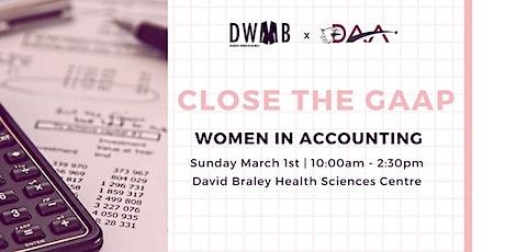DWIB X DAA: Close the GAAP tickets
