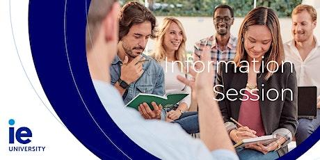 Sesión Informativa MBA entradas