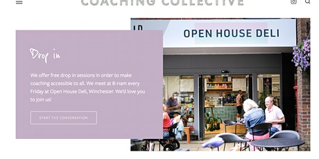 Coffee and Conversation with the Coaching Collective : Winchester tickets