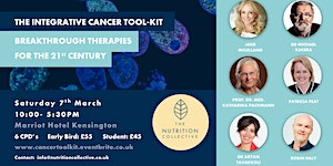 The Integrative Cancer Tool-Kit: Sat 7th March...