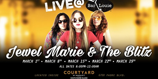 Jewel Marie & The Blitz Performing Live at Bar Louie South Padre Island