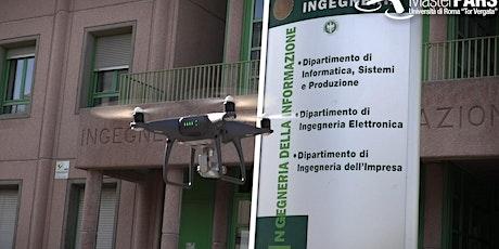 """Seminario su """"Droni, Privacy e Trattamento Dati Personali"""" biglietti"""