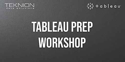 Tableau Prep Workshop