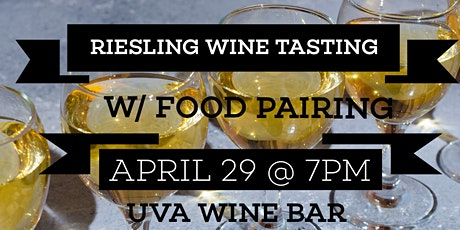 The 6 Noble Grapes Wine Tasting Series: RIESLING tickets