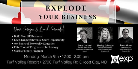 Explode Your Business! tickets