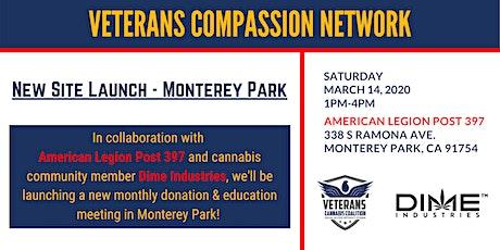 Veterans Compassion Network - Monetery Park Site Launch tickets