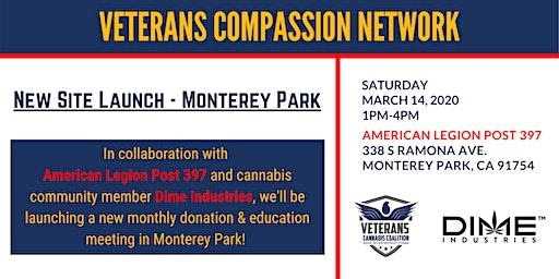 Veterans Compassion Network - Monetery Park Site Launch