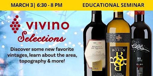 Educational Seminar: ViVino Selections of Wines