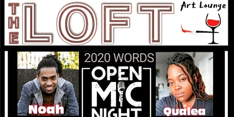 Open Mic at The Loft: 2020 Words tickets