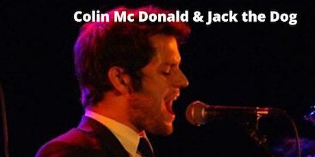 Colin Mc Donald and Jack the Dog live al Blues Alley biglietti