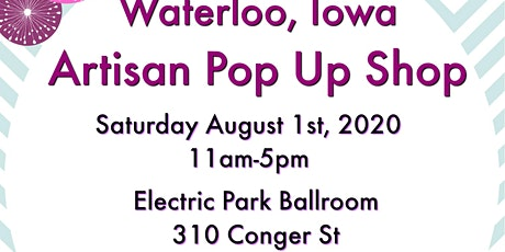 Waterloo Artisan Pop Up Shop by Midwest Handmade tickets