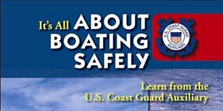 About Boating Safely Course tickets