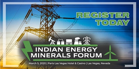 Indian Energy Minerals Forum tickets