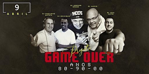 Projeto Game Over - A Festa - 80,90,00