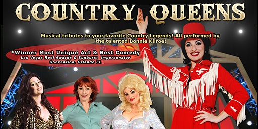 "The Tamihi Room proudly presents ""Country Queens"" - Tribute to Country"