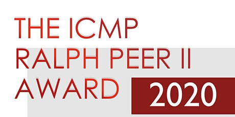 The ICMP Ralph Peer II Award 2020 for Outstanding Contribution to Global Music Publishing billets