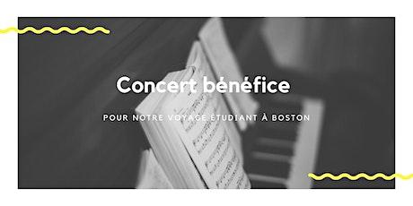 Concert bénéfice  - Boston billets