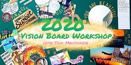 Vision Board Workshop with Toni Mackenzie tickets