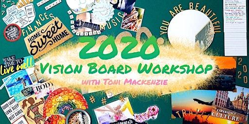 Vision Board Workshop with Toni Mackenzie