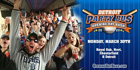 Opening Day Party Bus 2020 tickets