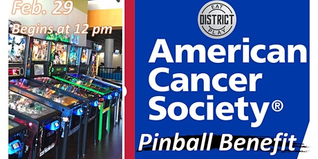 District ACS Pinball Benefit tickets